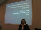 Ирина Чобану на Всемирном конгрессе по психотерапии